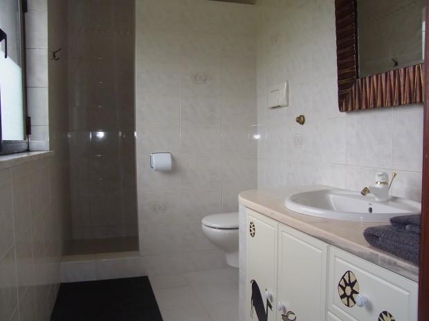 ensuite: douche, toilet en wastafelmeubel