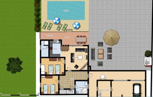 plattegrond Murteira